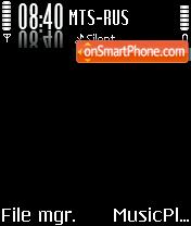 Dark theme screenshot
