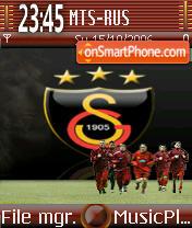 Galatasaray FC theme screenshot