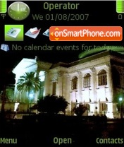 Teatro Massimo theme screenshot