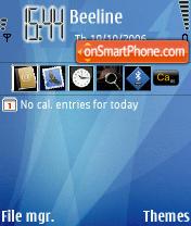 MAC OSX theme screenshot