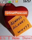 Always Alone es el tema de pantalla