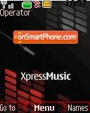 Nokia Xpress Music 03 theme screenshot