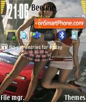 Nfs Girls 01 theme screenshot