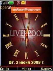 SWF clock Liverpool theme screenshot