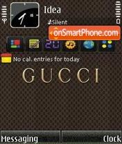 Gucci es el tema de pantalla