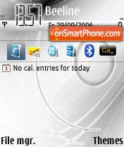 N73 Theme theme screenshot