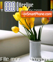 Yellow Tulip theme screenshot