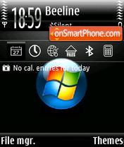 Vista Logo theme screenshot