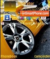 Lamborghini v5 es el tema de pantalla