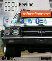 Chevrolet Super Sport es el tema de pantalla