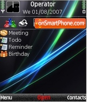Winvista2009 theme screenshot