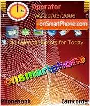 Onsmartphone theme screenshot