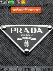 Prada theme screenshot