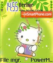 Happy Kitty Animated theme screenshot