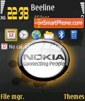 Conecting People theme screenshot