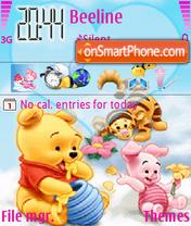 Pooh I Love Honey es el tema de pantalla