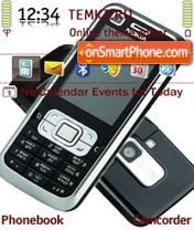 Nokia 6120c theme screenshot