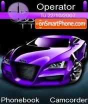 Audi Purple es el tema de pantalla