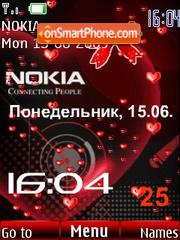 Swf Nokia animated es el tema de pantalla