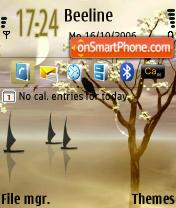 Wind Jamer default es el tema de pantalla