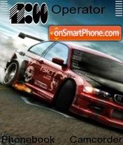 BMW Drift es el tema de pantalla