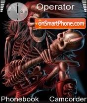 DJ Skull es el tema de pantalla