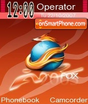 Fire Fox es el tema de pantalla