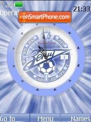 F.C. Zenit (SWF clock) theme screenshot