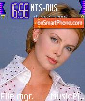 Charlize Theron 4 es el tema de pantalla