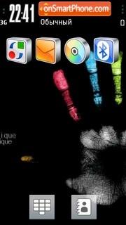 Be Unique theme screenshot