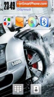 Nissan Drift Z350 theme screenshot