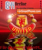 Man Utd Animated theme screenshot