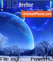 BlueMoon Theme es el tema de pantalla