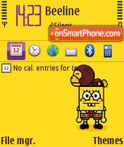 Sponge Bob 03 theme screenshot