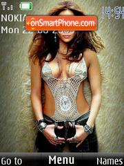 Jennifer Lopez theme screenshot