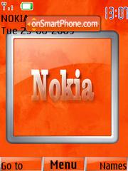 Orange Nokia es el tema de pantalla