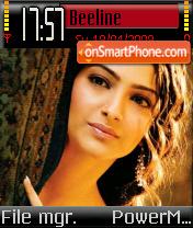 Sonam Kapoor 02 theme screenshot