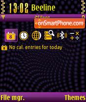 The x-treme 01 es el tema de pantalla