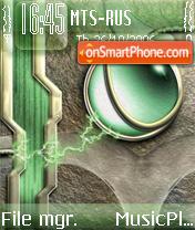 Green Ball theme screenshot