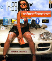 Koena Mitra theme screenshot