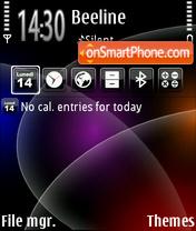 Deepspace es el tema de pantalla