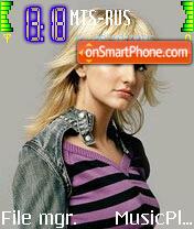 Ashlee Simpson 8 es el tema de pantalla