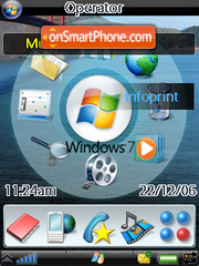 Windows Se7en 01 theme screenshot