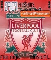 Liverpool Football Club theme screenshot