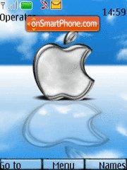 Blue Apple theme screenshot