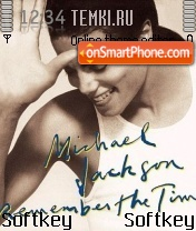 Michael Jackson 05 theme screenshot