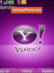 Yahoo tema screenshot