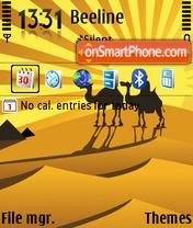 Camels 03 es el tema de pantalla