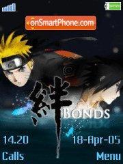Naruto bonds es el tema de pantalla