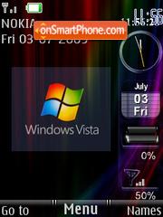 Vista Widgets theme screenshot